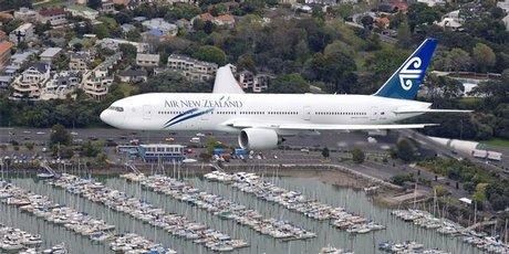 新西兰航空公司将向通往香港