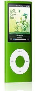 apple ipod nano 8gb green (4th generation) imags