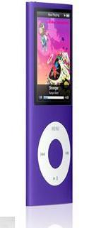 apple ipod nano 8gb purple (4th generation) imags