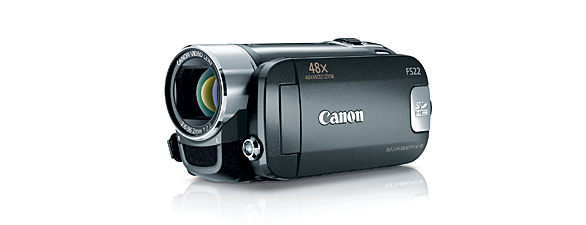 canon fs22 flash drive camcorder imags